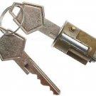 Ignition Lock Cylinder CHRYSLER DESOTO DODGE PLYMOUTH Ignition Lock Cylinder & 2 KEYS NEW