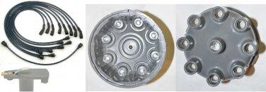 AMC Distributor Cap Rotor & Spark Plug Wires V8 JEEP Distributor Cap Rotor & Spark Plug Wires V8