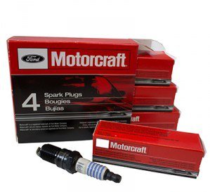 MOTORCRAFT Spark Plugs Ford Lincoln Mercury Mekur XR4Ti Spark Plugs OEM FOR FORD