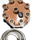 DISTRIBUTOR CAP ROTOR POINTS CONDENSER Spark Plug Wires DODGE 6 CYLINDER PLYMOUTH 6 CYLINDER