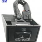 GM Rear Defroster Switch CHEVROLET S10 GMC PICKUP GMC VAN SAFARI SONOMA YUKON