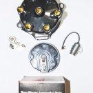 Distributor Cap Rotor Points Condenser BUICK 198 225 JEEP 225 OLDSMOBILE F85