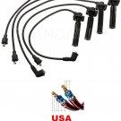 Spark Plug Wires FORD PROBE MAZDA 626 MAZDA MX-6 2.0L DENSO 671-4233 USA MADE