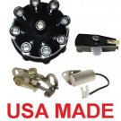DISTRIBUTOR CAP ROTOR POINTS CONDENSER FORD V8 LINCOLN V8 MERCURY V8