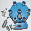 DISTRIBUTOR CAP & ROTOR POINTS CONDENSER DODGE PLYMOUTH 170 198 225 6 CYLINDER