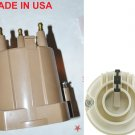 DISTRIBUTOR CAP & ROTOR  AMC BUICK CHEVROLET GMC JIMMY JEEP FIREBIRD FIERO 4CYL