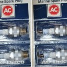 SPARK PLUGS OMC EVINRUDE JOHNSON SPARK PLUGS AC DELCO VB40FFM GM 5613472 BUHXW-1