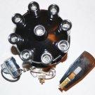 CHRYSLER DODGE PLYMOUTH V8 DISTRIBUTOR CAP ROTOR POINTS CONDENSER
