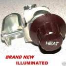 UNIVERSAL HEATER SWITCH 12 VOLT 4  POSITION CAR TRUCK TRACTOR HOT ROD LIGHTED