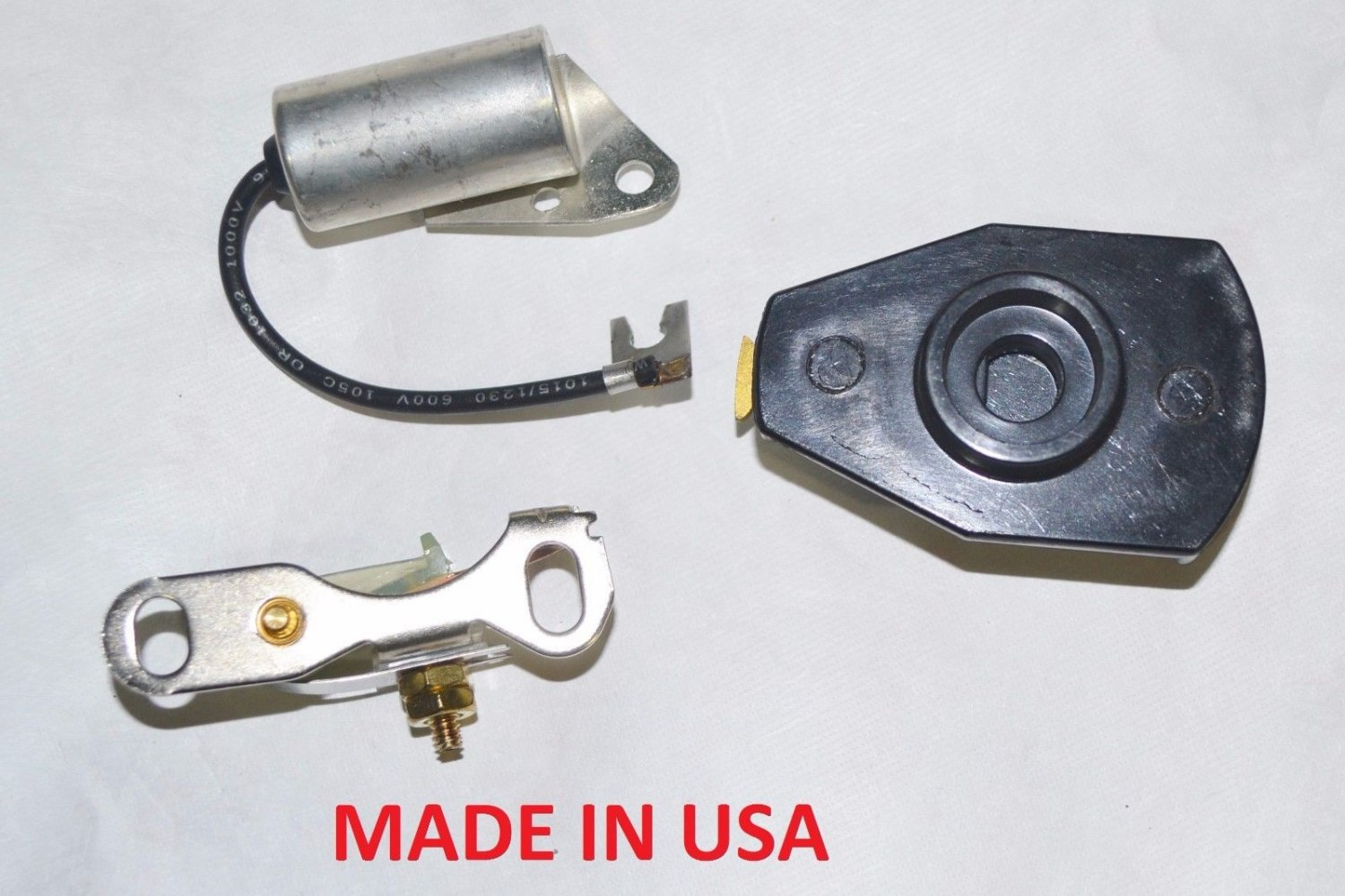 Distributor Rotor Points Condenser FORD 1946-1967 MERCURY 1942-1968 6 CYLINDER