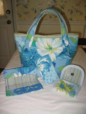 The Angela Custom Tote Accessories