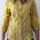 women's stylish clothing, cotton shirt by JUST CAVALLI