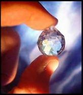 SPECIAL EFFECTS CRYSTAL MULTIFACETED QUARTZ sunbeams
