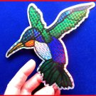 Screen Magnet large RUBY HUMMINGBIRD for Screen Doors and windows, 2 halves