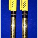 BLACKLIGHT INVISIBLE INK UV Black Light SECURITY MARKER Spy Pen PACK OF 2 PENS