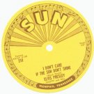 ORIGINAL 1954 Elvis Presley 45 record SUN Label UNUSED