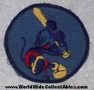 WWII era Disney Bond Bread Premium Patch Mickey Mouse plays Baseball