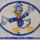1940s Bond Bread WWII Disney DONALD DUCK PATCH white background
