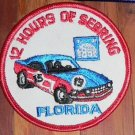 2 ORIGINAL Florida 12 HOURS OF SEBRING '85 Sew On Patches