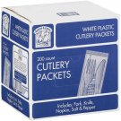 Plastic Cutlery Napkin Packets  (200ct)