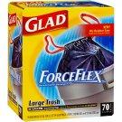 Glad ForceFlex Large Trash Bags  (70ct / 33 gal)