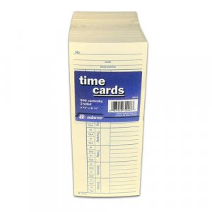 Two-Sided Time Cards  (500 ct.)