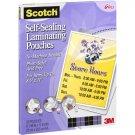 Scotch - Self-Sealing Laminating Pouches  (25ct)