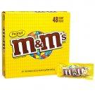M & M's Peanut Chcolate Candies (48 pack / 1.74 oz. pks.)