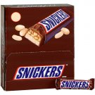 Snickers Candy Bars  (72 pack / 2.07 oz bars)
