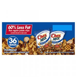 Chex Mix - Traditional Snack Mix (36 ct. bags)