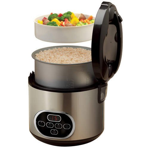 Aroma - 10 Cup Digital Rice Cooker & Food Steamer