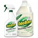 OdoBan - Odor Eliminator & Multi-Purpose Cleaner Pack ( 4 Pack / 128oz jug & 24oz bottle each pack )