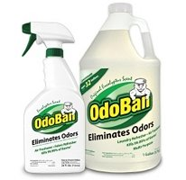 OdoBan - Odor Eliminator & Multi-Purpose Cleaner Pack ( 4 Pack / 128oz jug & 24oz bottle each pack )
