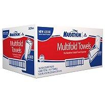 Marathon® - Multi-fold Folded Towels White  (4,000ct)