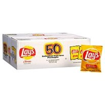 Lays® - Classic Potato Chips  (50 Pack / 1 oz. snack bags)