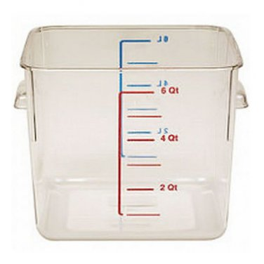 Rubbermaid - Square Storage Container  (6 qt. / 2 pack)