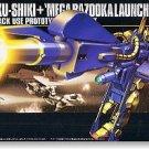 1/144 HGUC Hyaku Shiki + Mega Bazooka Launcher Zeta Gumdam