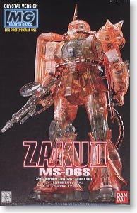 1/100 MG MS-06S Zaku II (Crystal Ver.)