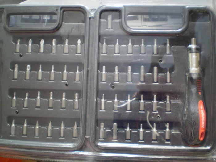 50-Piece Ratcheting Screwdriver Set by Husky.(FREE SHIPPING)