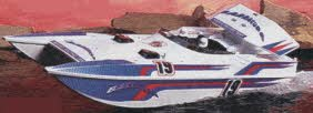 Barracuda Radio Controlled Speedboat by Nikko