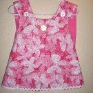Vintage pink camo butterfly criss cross dress