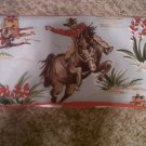 Cowboy themed wipe case