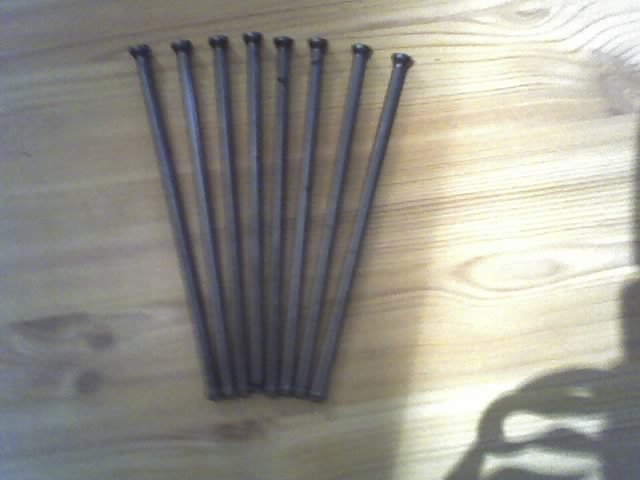 Volvo Penta push rod set