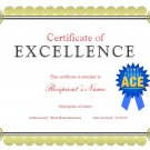 Award of Excellence for homeschool