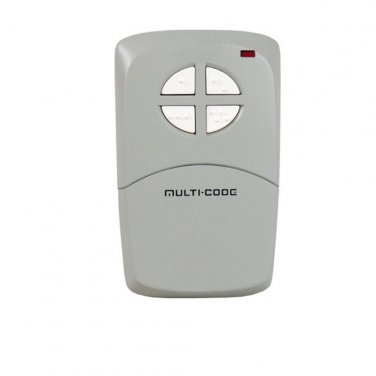Multi-Code 4140 visor gate, garage door opener 4 button remote by Linear MCS414001 MultiCode