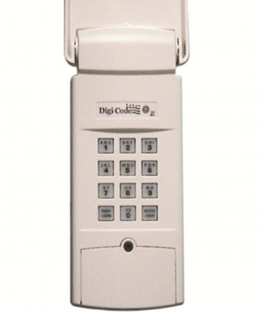 Digi Code 5200 Wireless Digital Keypad compatible with Multi Code 4200 garage door opener Digicode