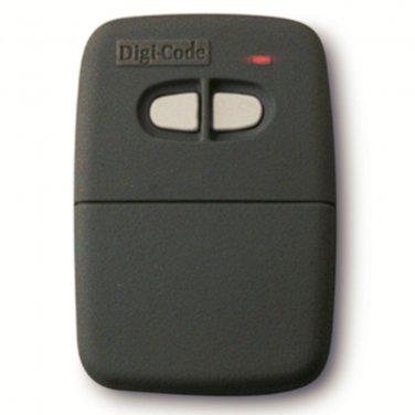 Digi Code 5062 remote compatible with Stanley 1094 gate or garage door opener remote Digicode