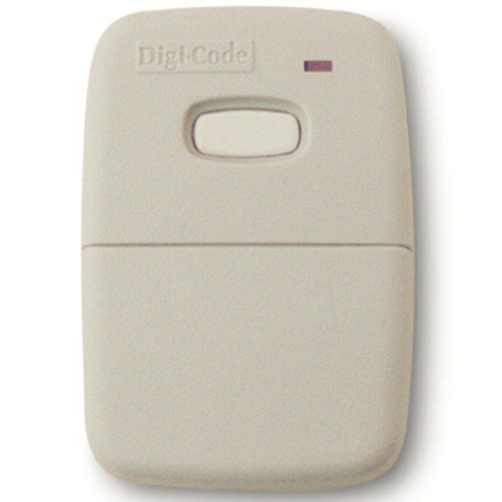 Digi Code 5010 remote compatible with Multi Code 3089 gate or garage door opener remote Digicode