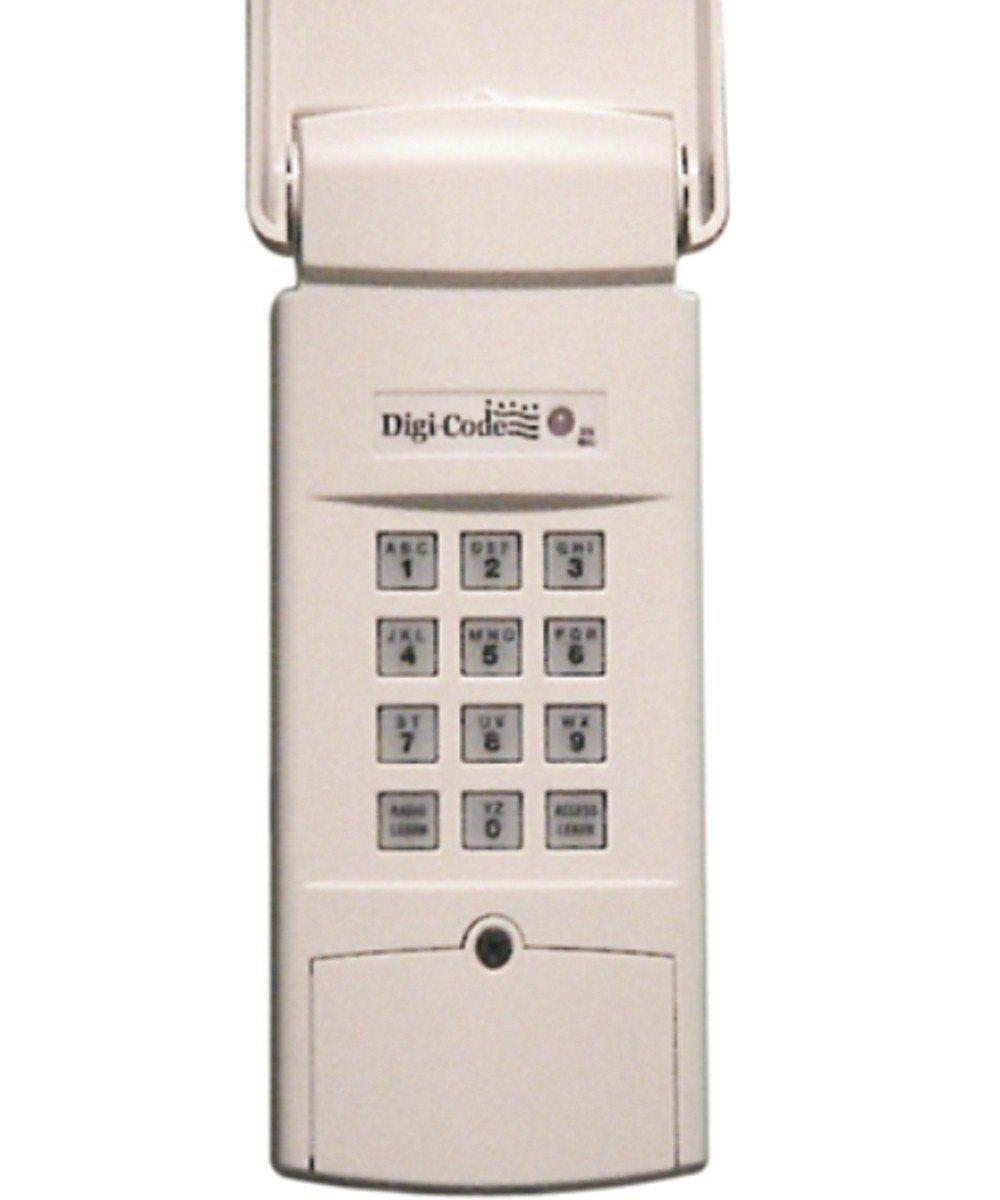 Digi Code Dc 5202 Wireless Digital Keypad Stanley 298601