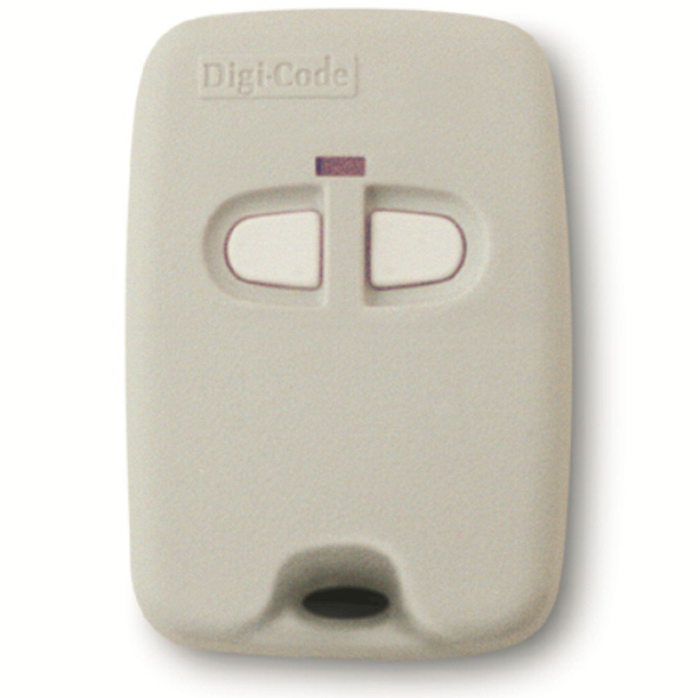 Digi Code 5070 Keychain remote compatible with Multi Code 3083 gate or garage door opener Digicode